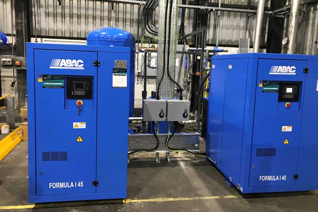 Compressors for Waste Recycling Plant